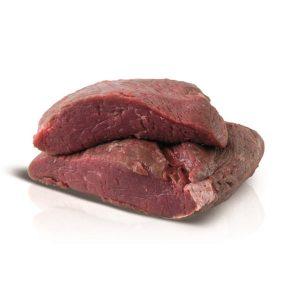 Vlees van de witblauwe dubbeldoelkoeien
